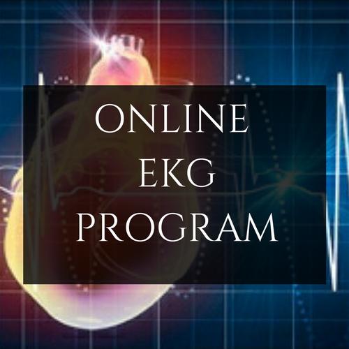EKG Online Program – Online Programs From WMTC