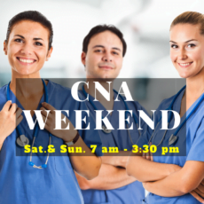 CNA WEEKEND PROGRAM